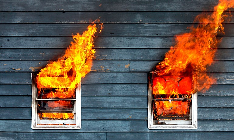 Fire & Smoke Damage Professional Cleanup Recovery